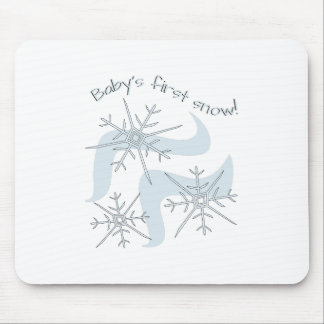 First Snow Mousepads
