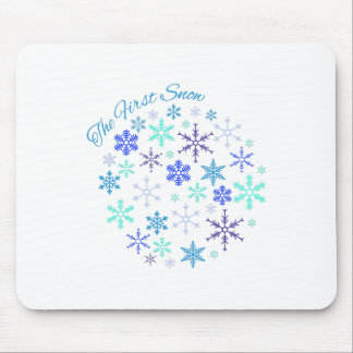 First Snow Mouse Pad