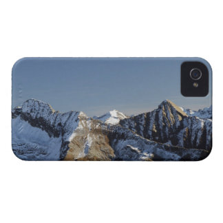 First snow on the mountains iPhone 4 Case-Mate case