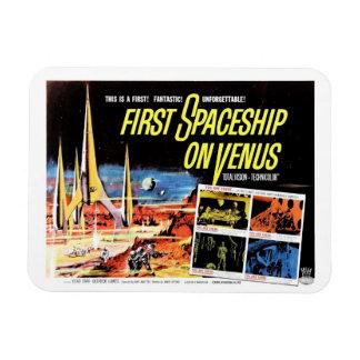"""First Spaceship on Venus"" Magnet"