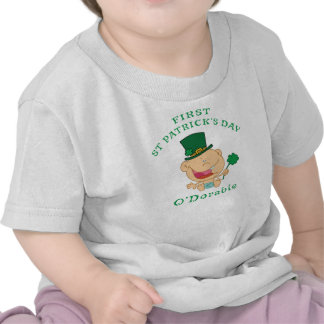 First St Patrick's Day T-Shirt T Shirts