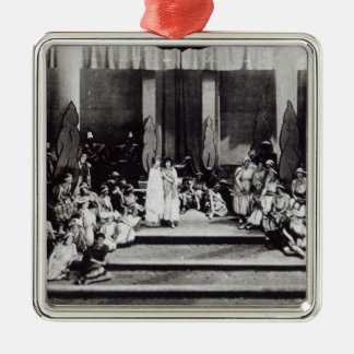 """First stage performance in England """"Semele"""" Christmas Ornament"""