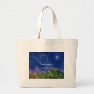 First Star Art Jumbo Tote Bag