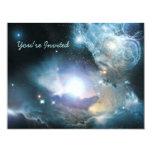 First Stars 11 Cm X 14 Cm Invitation Card