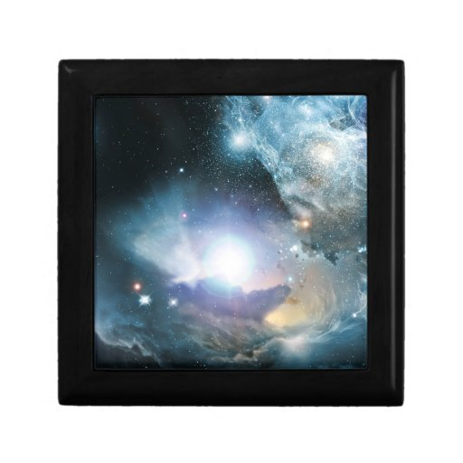 First Stars Small Square Gift Box