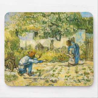 First Steps by Vincent van Gogh 1890 Mouse Mat