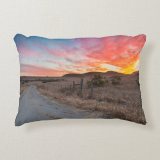 First Sunset of the Day Decorative Cushion