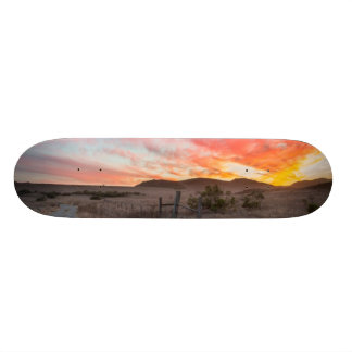First Sunset of the Day Skate Board Decks