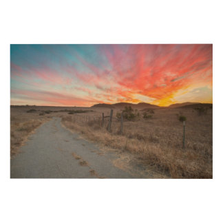 First Sunset of the Day Wood Wall Decor