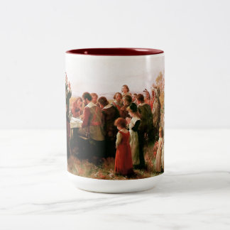 First Thanksgiving in Plymouth. Gift Mug