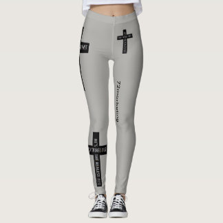 First Things First Religious Leggings Jesus Lord