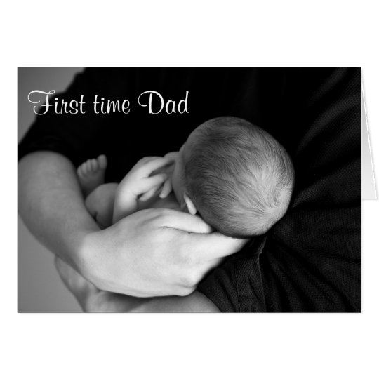 First Time Dad Father's Day Card