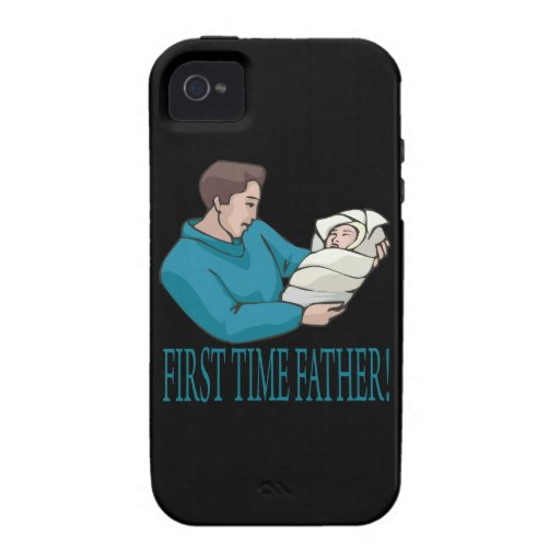 First Time Father Case-Mate iPhone 4 Covers