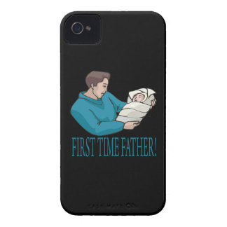 First Time Father iPhone 4 Cases