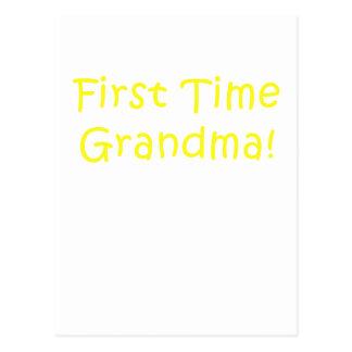 First Time Grandma Postcard