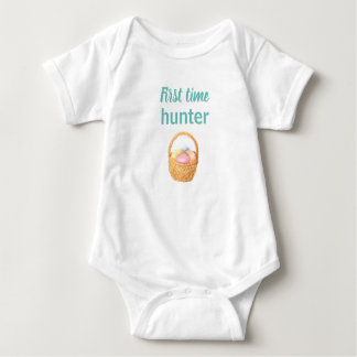First time hunter. baby bodysuit