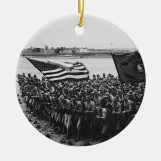 First to Fight United States Marine Corps 1918 Christmas Ornament