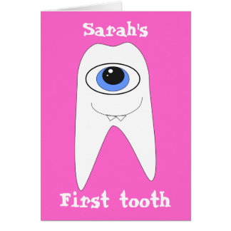 First Tooth Card