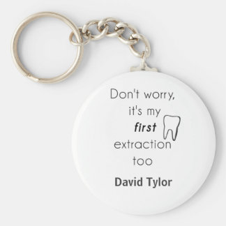 First Tooth Extraction! Key Ring