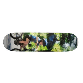 First Two Wheeler Skate Board Deck