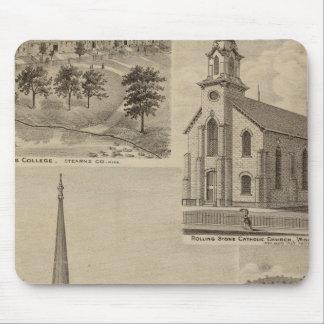 First Universalisty Church, Minneapolis, Minnesota Mouse Mat