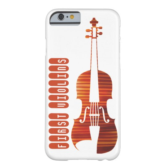 First Violins Barely There Smartphone Case