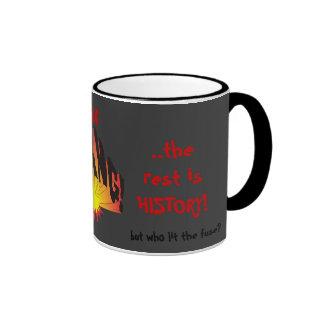 First was the Big Bang... Ringer Coffee Mug