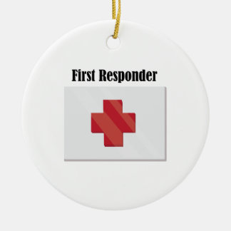 FirstAid_FirstResponder Christmas Ornament