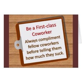 Firstclass Note Card