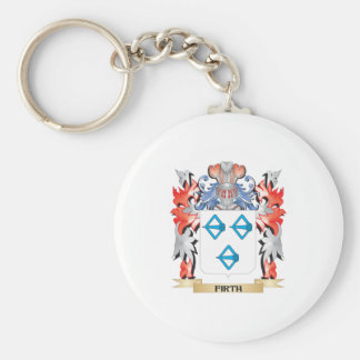 Firth Coat of Arms - Family Crest Basic Round Button Key Ring