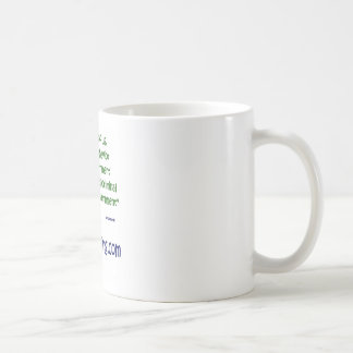 Fiscal behavior basic white mug