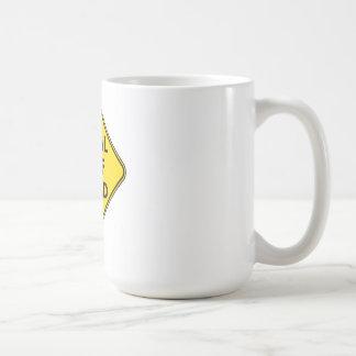 Fiscal Cliff Ahead Coffee Mug