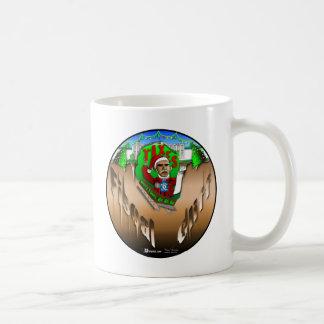 Fiscal Cliff Basic White Mug