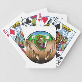 Fiscal Cliff Bicycle Poker Cards