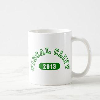 Fiscal Cliff Commemorative Goods Basic White Mug