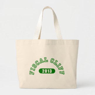 Fiscal Cliff Commemorative Goods Jumbo Tote Bag