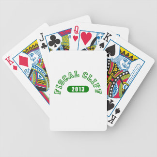 Fiscal Cliff Commemorative Goods Card Deck