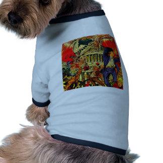 Fiscal Cliff Political Apocalypse Pet Clothes