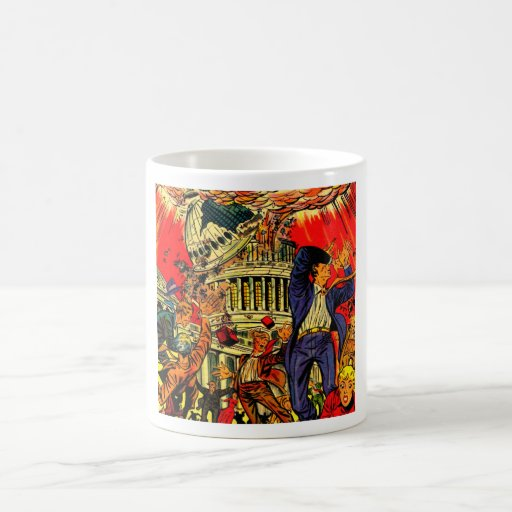 Fiscal Cliff Political Apocalypse Coffee Mug