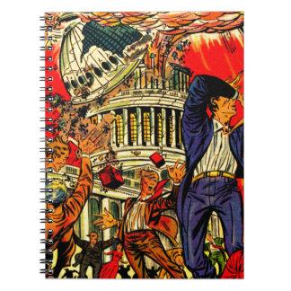 Fiscal Cliff Political Apocalypse Note Books