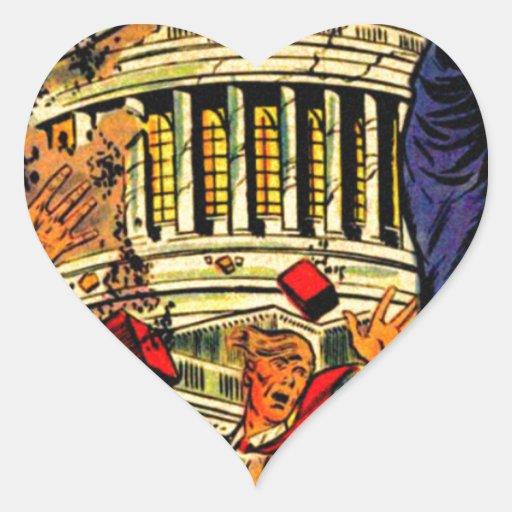 Fiscal Cliff Political Apocalypse Stickers
