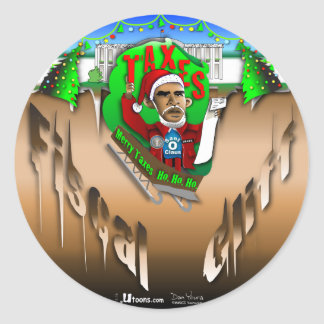 Fiscal Cliff Sticker