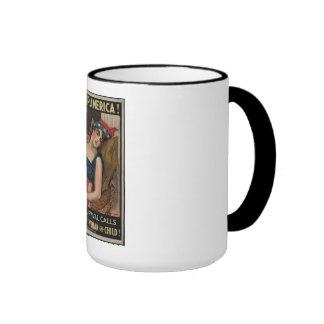 Fiscal Survival Ringer Mug