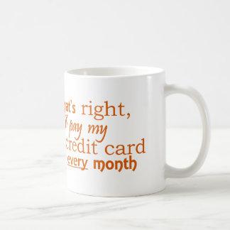 Fiscally Responsible Mug - Credit Card