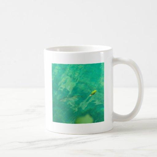 Fisch Wasser fish water Basic White Mug
