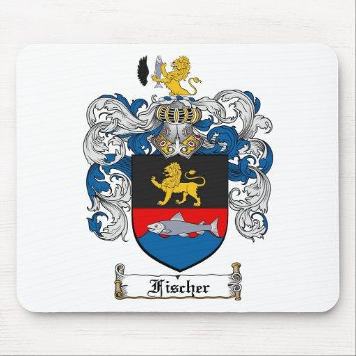 FISCHER FAMILY CREST -  FISCHER COAT OF ARMS MOUSE MAT