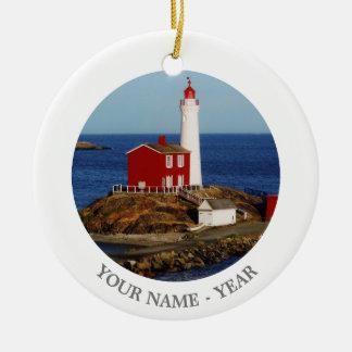 Fisgard Lighthouse Christmas Ornament