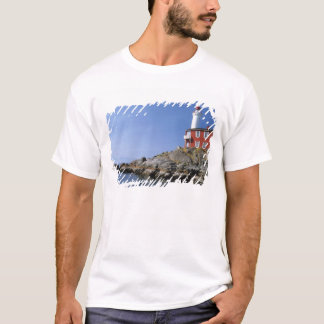 Fisgard Lighthouse in the Fort Rodd Hill T-Shirt