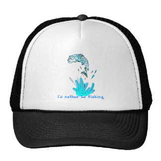 fish 1, I`d rather be Fishing Hats
