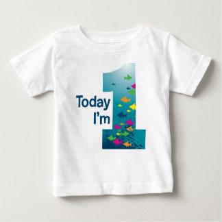 Fish 1st Birthday Baby T-Shirt